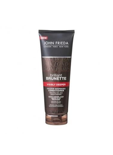 John Frieda Brilliant Brunette  Kahverengi Koyulaştırıcı Parlatıcı Saç Kremi 250 Ml Renksiz